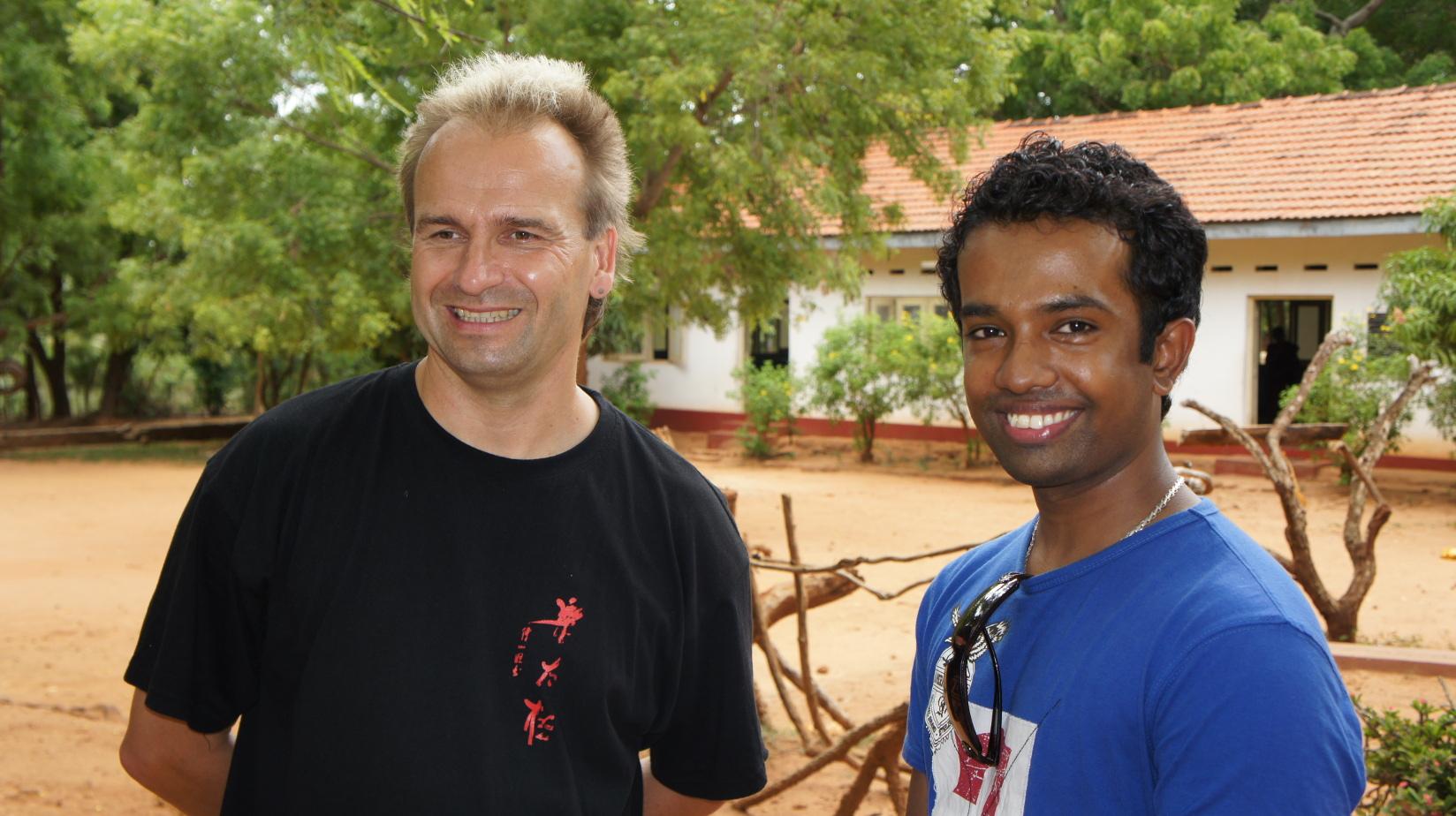 Die beiden Initiatoren - Sujith und Jan