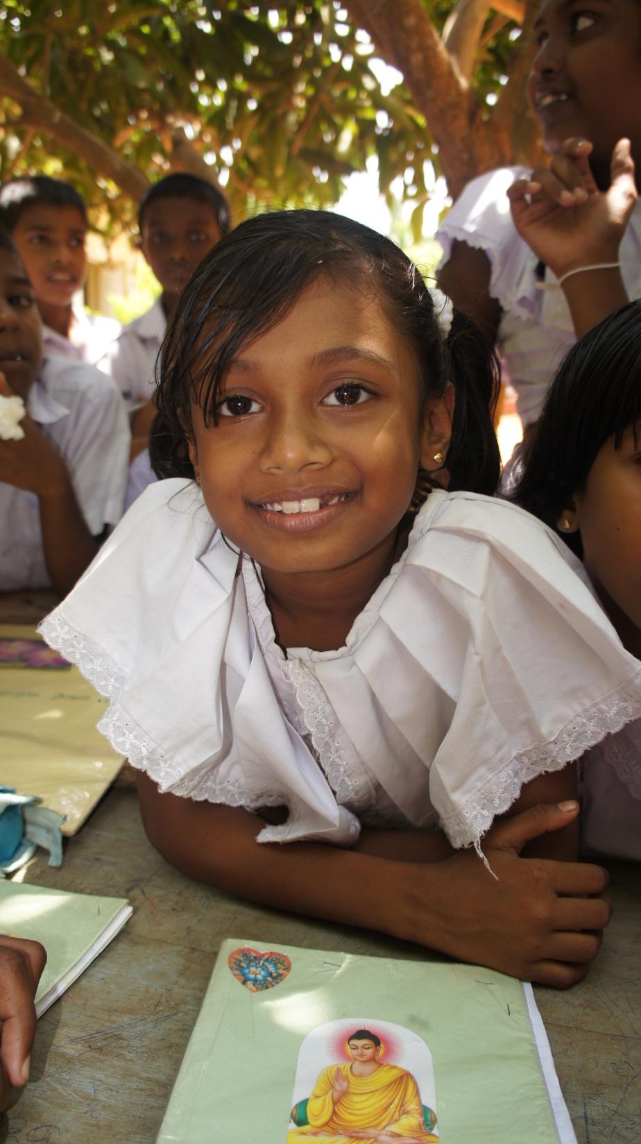 Eines unserer Patenkinder in der Sonntagsschule