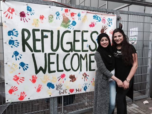 Entstanden ist Kids Welcome aus einer ehrenamtlichen Initiative in den Messehallen 2015