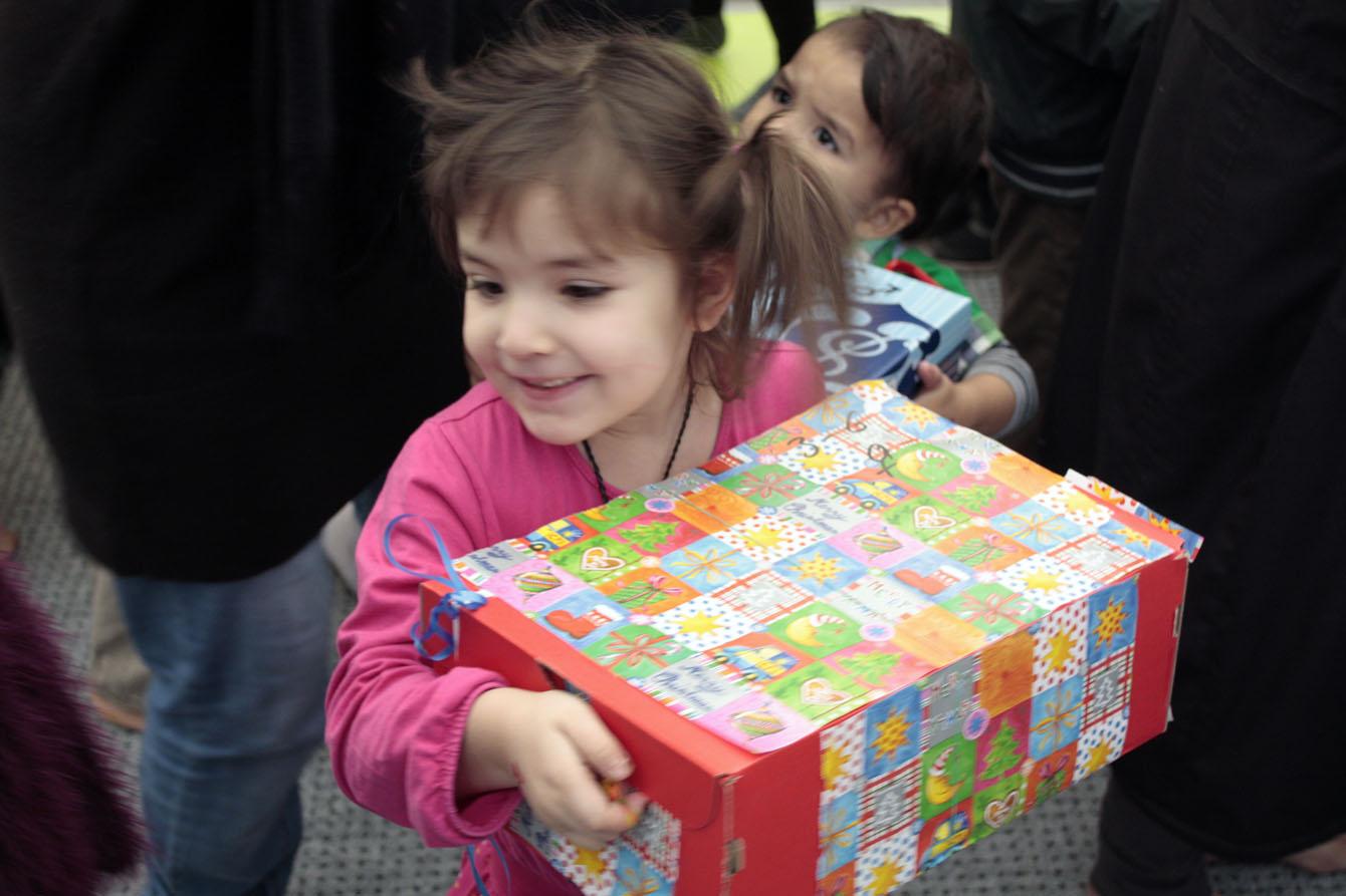 Die große Geschenke-Aktion machte viele geflüchtete Kinder zu Weihnachten glücklich